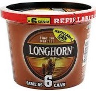 LONGHORN TUB FC NATURAL 7.2 OZ