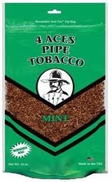 4 ACES MINT MEDIUM PIPE TOBACCO