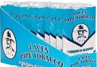 4 ACES TURK&BLEND PIPE TOBACCO BX/12