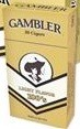 GAMBLER FILTER CIGAR LT BOX 100 CTN