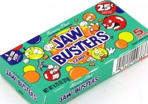 JAW BUSTERS 25¢ BOX/24