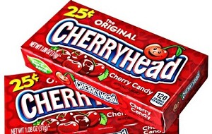 CHERRY HEAD 25¢ BOX/24