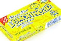 LEMON HEAD 25¢ BOX/24