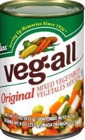 VEG-ALL MIXED VEGETABLES 15 OZ
