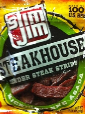 SLIM JIM JERKY STEAK CARNE ASADA 3Z