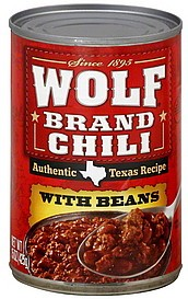 CHILI WOLF WITH BEANS 15 OZ