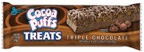 COCOA PUFFS TREATS TRIPL CHOC BX/12