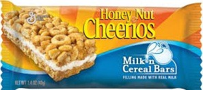 MILK & CEREAL BARS BOX 12