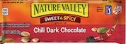 NATURE VALLEY SWEET AND SPICY CHILLI DARK CHOCOLATE