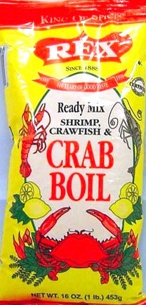 REX CRAB BOIL READY MIX 12/16OZ