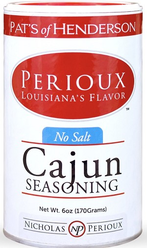 PERIOUX NO SALT CAJUN SEASONING 6OZ