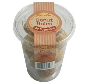 DONUT HOLES CUP OLD FASHION EACH