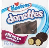 HOSTESS DONETTES FROSTED DBL CHOC