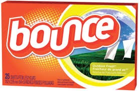 FABRIC SOFTENER BOUNCE 25/CNT