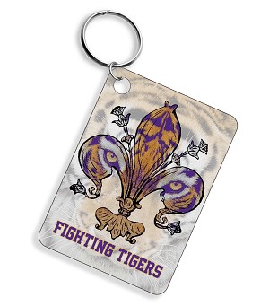 FIGHTING TIGERS KEY CHAIN W/DISPLAY 36 COUNT