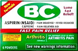 BC 6 POWDER ARTHRITIS BOX/12