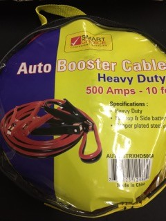 BOOSTER CABLE 500 AMP HEAVY DUTY EA